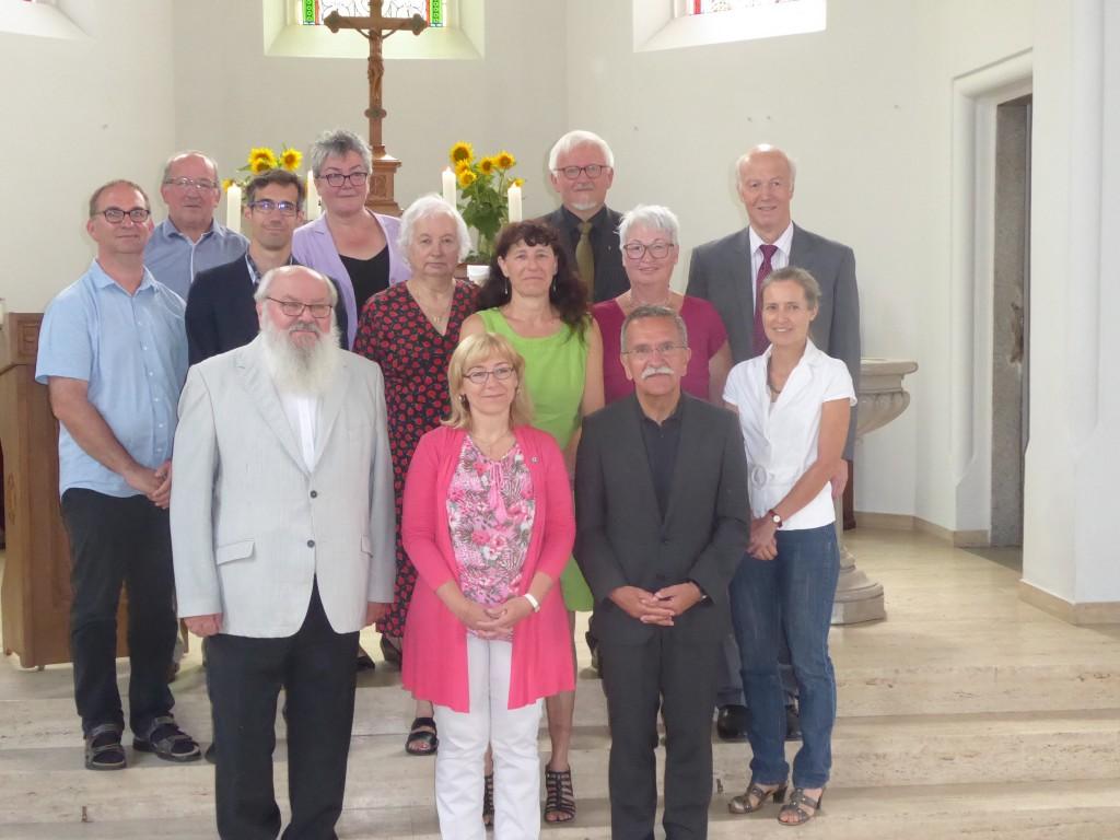 Das neue Presbyterium.2018-2023